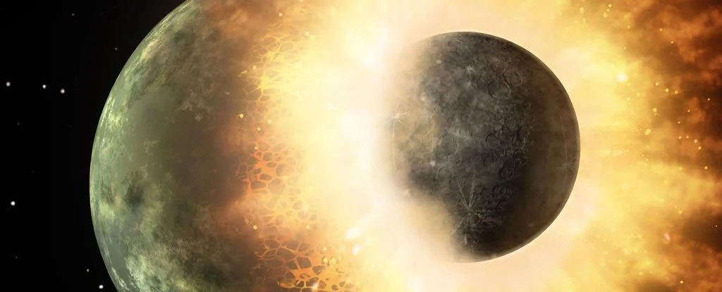 A Buried Chunk of Alien World Could Be Behind a Weak Spot in Earth's Magnetic Field 1