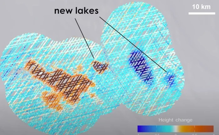 NASA Mission Uncovers Hidden Meltwater Lakes Under Antarctica's Ice 2