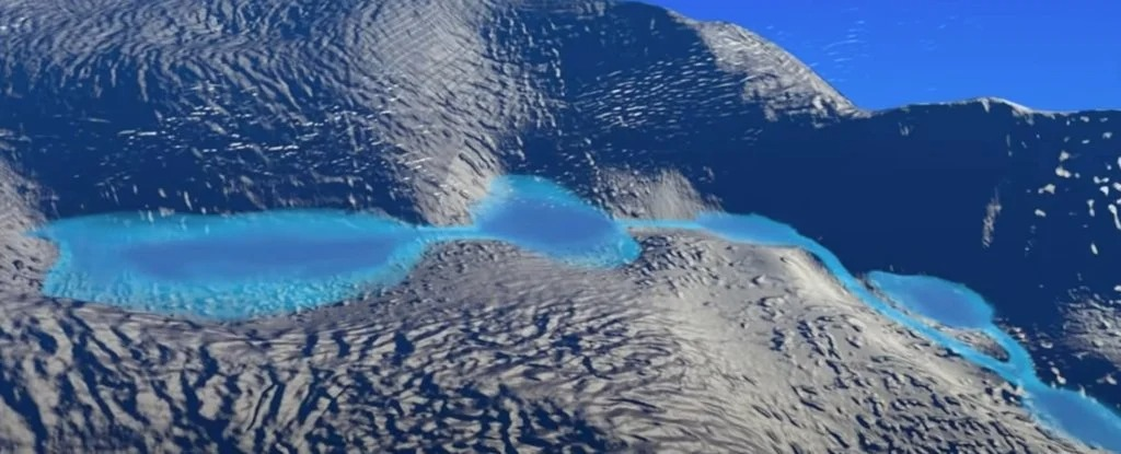 NASA Mission Uncovers Hidden Meltwater Lakes Under Antarctica's Ice 1