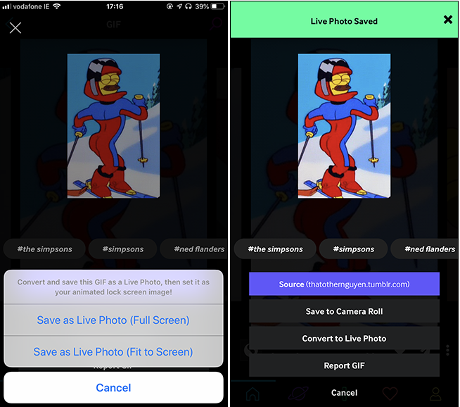 Instructions for installing gifs as wallpapers for iPhone in the most detail 3