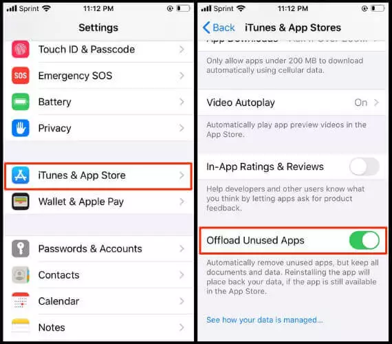 How to delete 'Other' memory to free up iPhone space ? 4