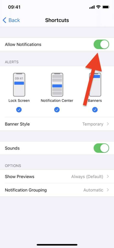 How to turn off notifications for shortcut apps on iPhone? 5