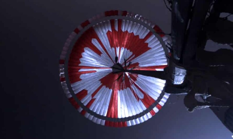 Internet Sleuths Discover The Secret Message Hidden In Perseverance's Parachute 1