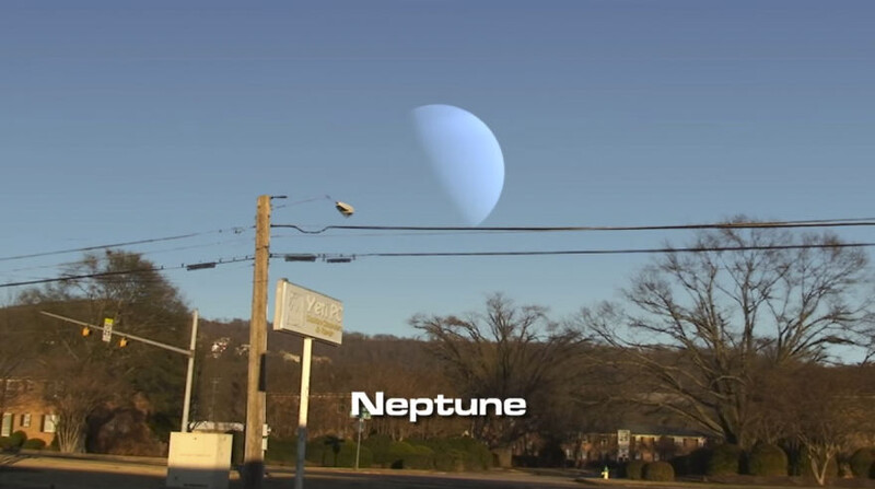 This Is How The Sky Would Look If Planets Appeared Instead Of The Moon 4