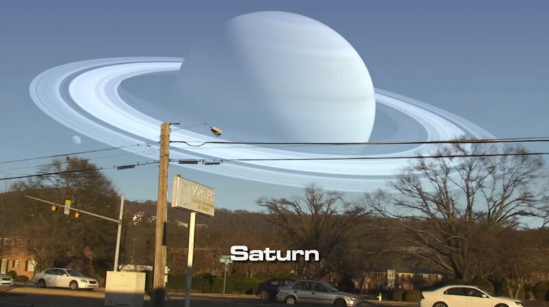 This Is How The Sky Would Look If Planets Appeared Instead Of The Moon 7