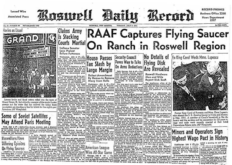 Were alien secrets hidden in Roswell and Area 51? 'Project Blue Book' UFO hunters investigate. 1