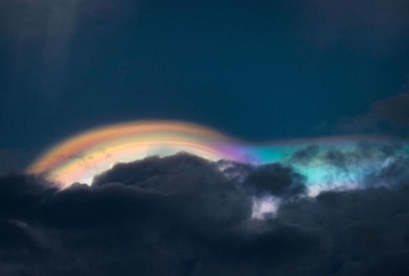 UFO sighting: 'Rainbow UFOs spotted over The Philippines – Proof aliens are watching' 2