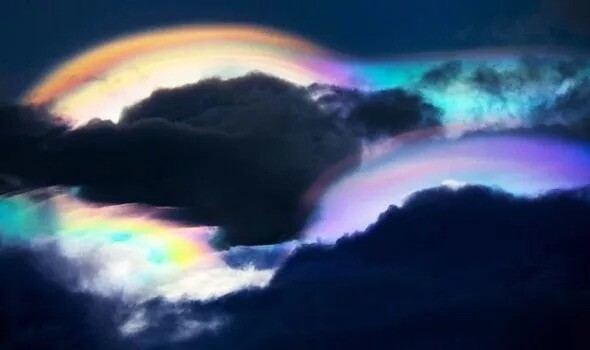 UFO sighting: 'Rainbow UFOs spotted over The Philippines – Proof aliens are watching' 1