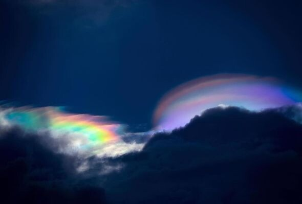 UFO sighting: 'Rainbow UFOs spotted over The Philippines – Proof aliens are watching' 4