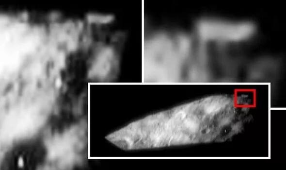 NASA UFO sighting: Asteroid Eros photo reveals '500m-wide alien base' 1