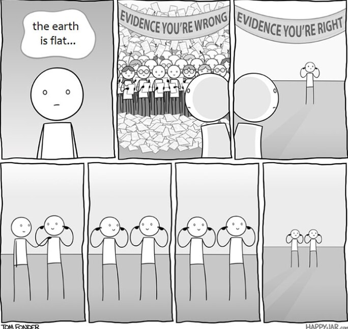 20 Times Flat-Earthers Were Trolled By Everyone On Internet 7