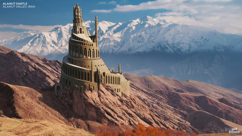 This Is What 4 Castles Across Asia Looked Like Before Falling Into Ruins 7