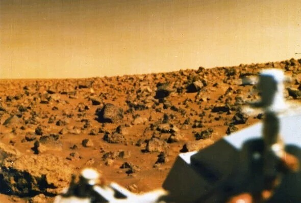 UFO sighting: NASA Mars rover spots 'ancient black alien orb' floating over Red Planet 4