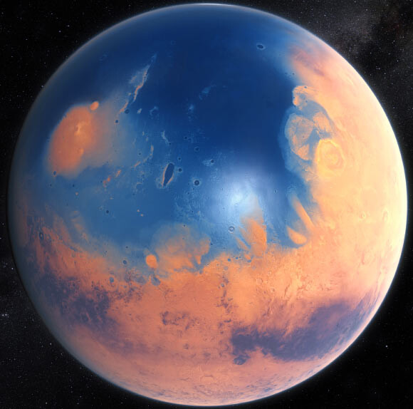 Study: Early Mars Likely Had Energy Source for Underground Life 1