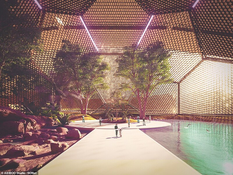 The First City On Mars: Plans Unveiled For The First Sustainable City On Mars 1