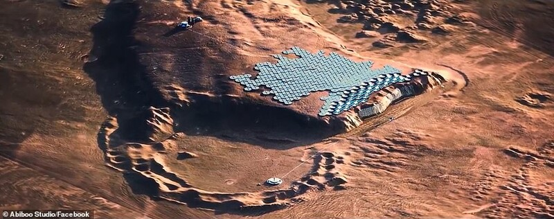 The First City On Mars: Plans Unveiled For The First Sustainable City On Mars 2