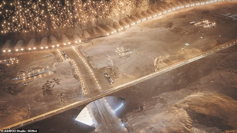The First City On Mars: Plans Unveiled For The First Sustainable City On Mars 3