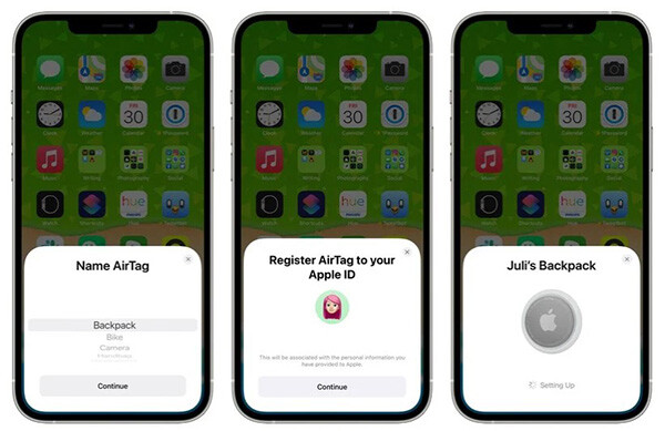 He.re is how to add AirTag to the Find My app on iPhone 2