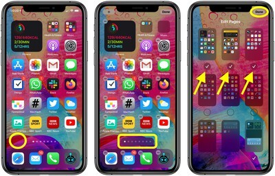 How to Hide Home Screen App Pages on iPhone in iOS 14 2