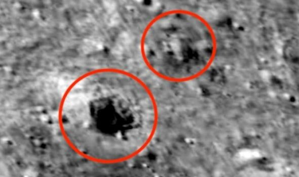 Giant UFO sighting: 45 mile-long alien base spotted on Moon in NASA pics - claim 1
