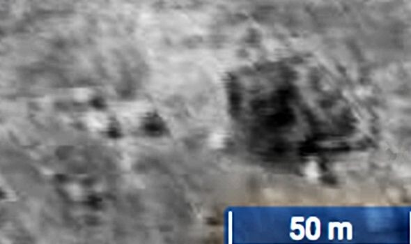Giant UFO sighting: 45 mile-long alien base spotted on Moon in NASA pics - claim 2