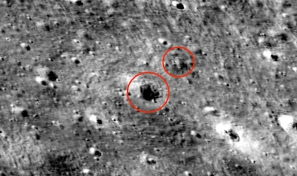 Giant UFO sighting: 45 mile-long alien base spotted on Moon in NASA pics - claim 4