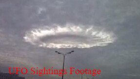 UFO Hiding In The Clouds Over Moscow In Russia - This Is Bizarre 4