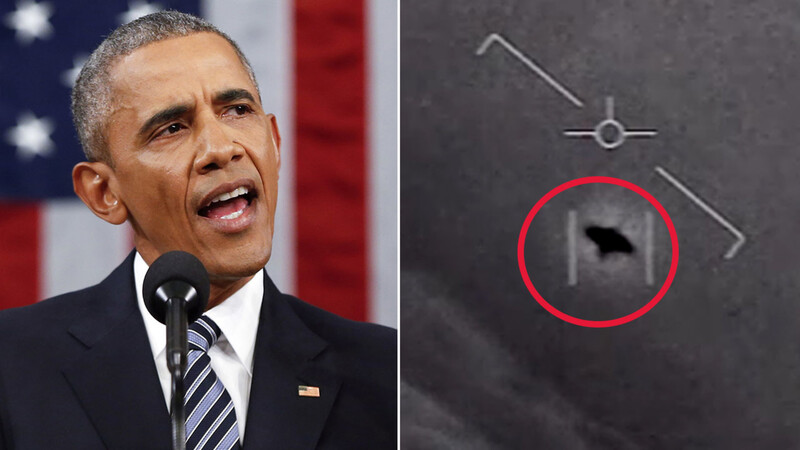 Barack Obaмค just said something *very* interesting about UFOs 1