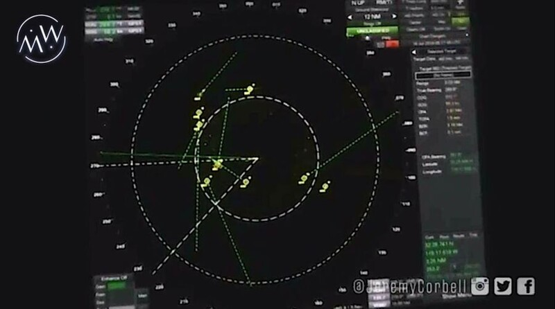 RADAR data CONFIRMS: USS Omaha was surrounded by UFO swarm 1