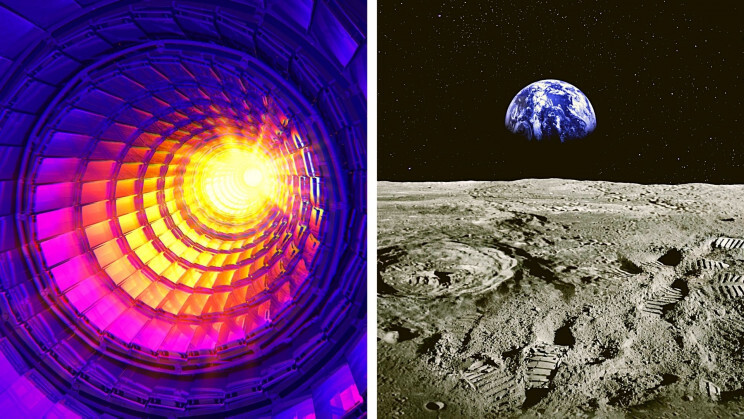 A Hadron Collider on the Moon Could Create 1,000 Times More Energy Than CERN 1