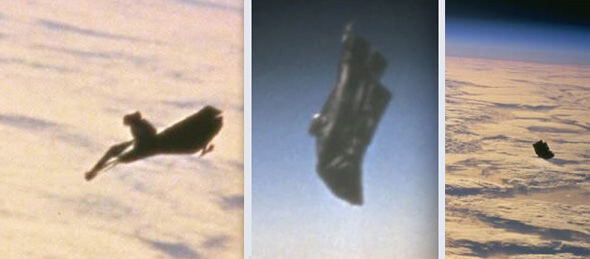 """""""Leaked footage"""" of mythical """"Black Knight"""" UFO hounding ISS emerges 2"""