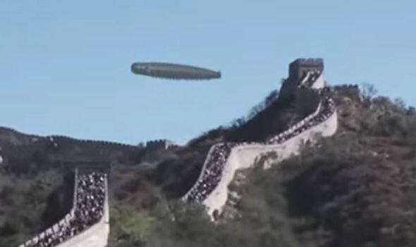 UFO sighting at Great Wall of China reported to MUFON, here's the truth 1