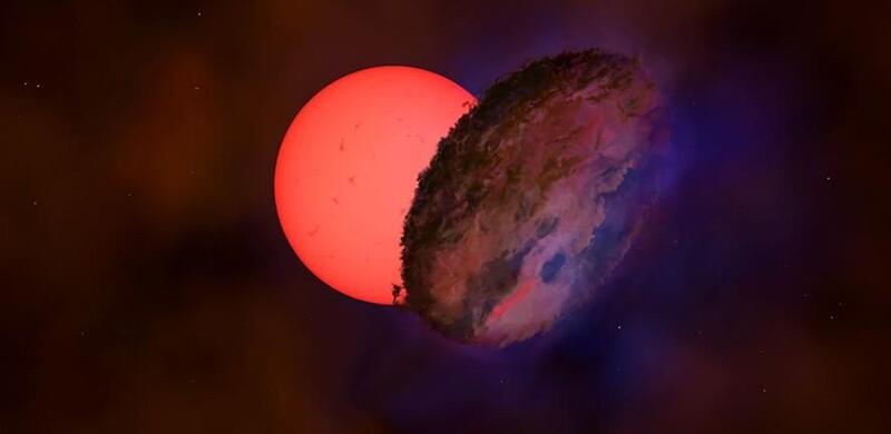 "Strange ""blinking"" star near heart of Milky Way catches scientists' eyes 1"