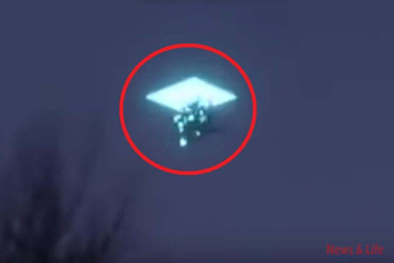 Alleged appearance of UFO in Mexico divides social networks Real or False? 1