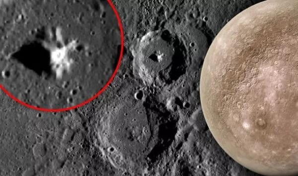 UFO sighting: 6-mile alien base discovered on Mercury crater - 'That's huge' 1