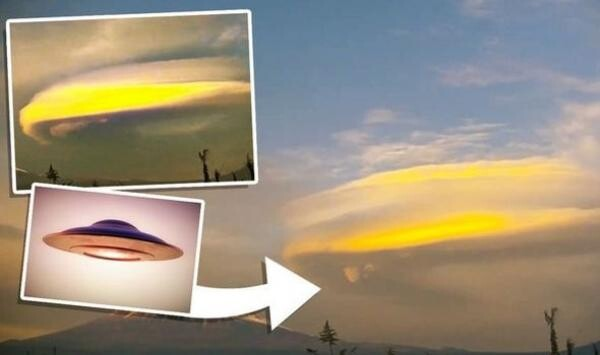"""UFO sighting: Cloaked """"alien ship"""" over Mount Fuji is """"100% proof"""" aliens are here - claim 1"""