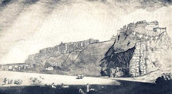 The Nor' Loch ― A dark past behind the Edinburgh Castle 3