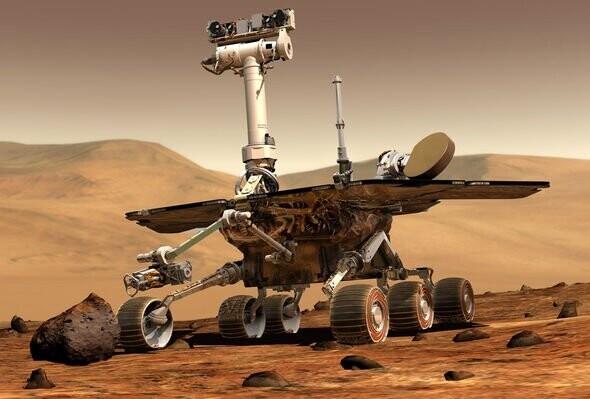NASA conspiracy? Space agency's Spirit rover destroys 'alien dinosaur skull' on Mars 1