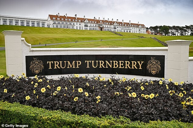 Trump lashes out at British Open who bypassed his Scottish golf course 2