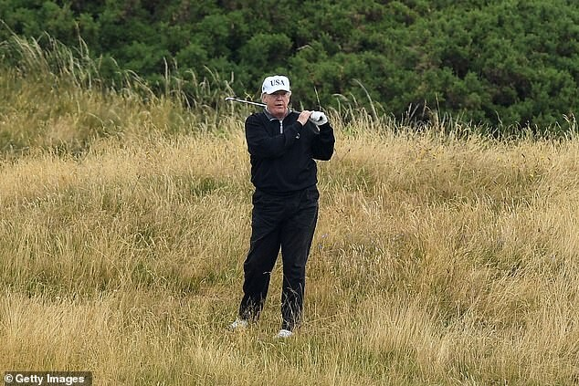 Trump lashes out at British Open who bypassed his Scottish golf course 6