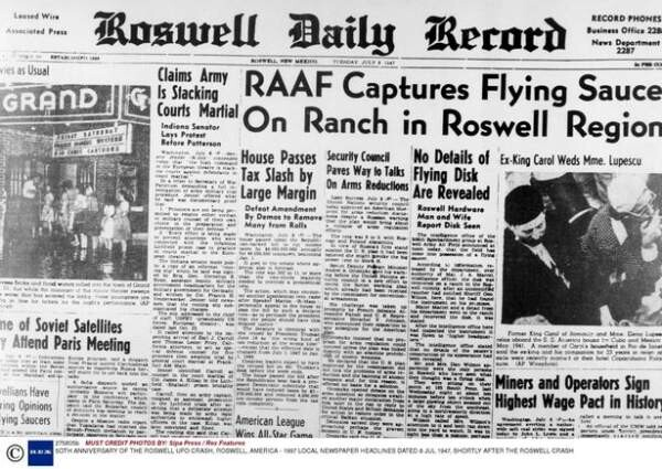 Are aliens real? From Roswell to fossils - dramatic evidence from some of the biggest UFO mysteries point to only one conclusion 2