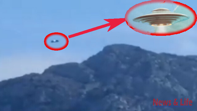 UFO Sighting Over Marseille In France (video) 1