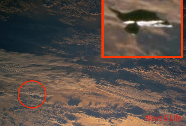 UFO Sighting Photos leaked out of NASA-Johnson Space Center, 100% clear UFOs In High Detail. 3