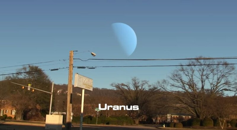 This Is How The Sky Would Look If Planets Appeared Instead Of The Moon 2