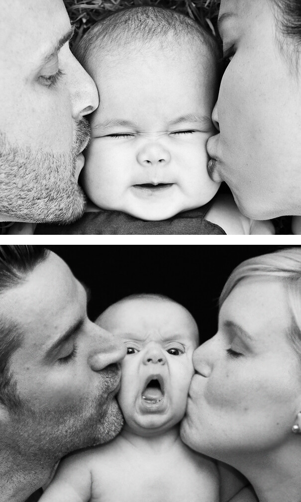 5 Funny Baby Photoshoots That Didn't Go According To Plan 1