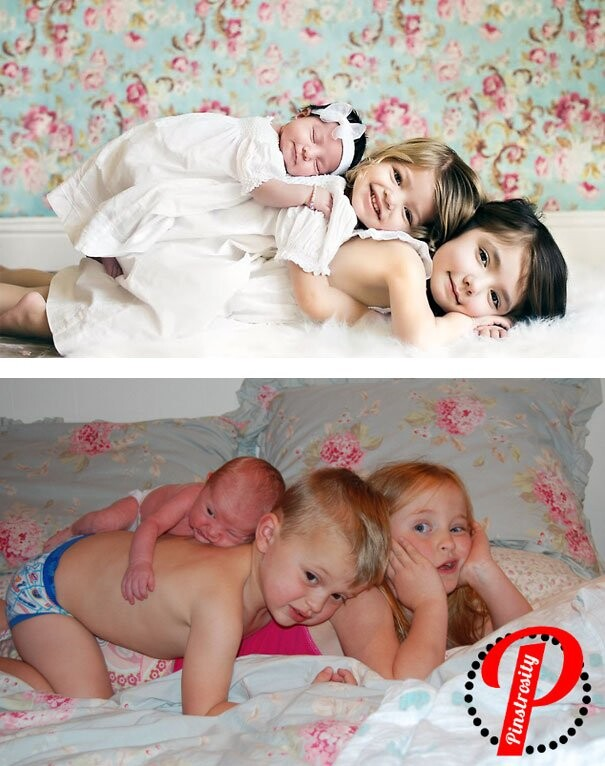 25 Funny Newborn Photoshoots That Didn't Go As Expected 9