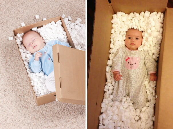 25 Funny Newborn Photoshoots That Didn't Go As Expected 10
