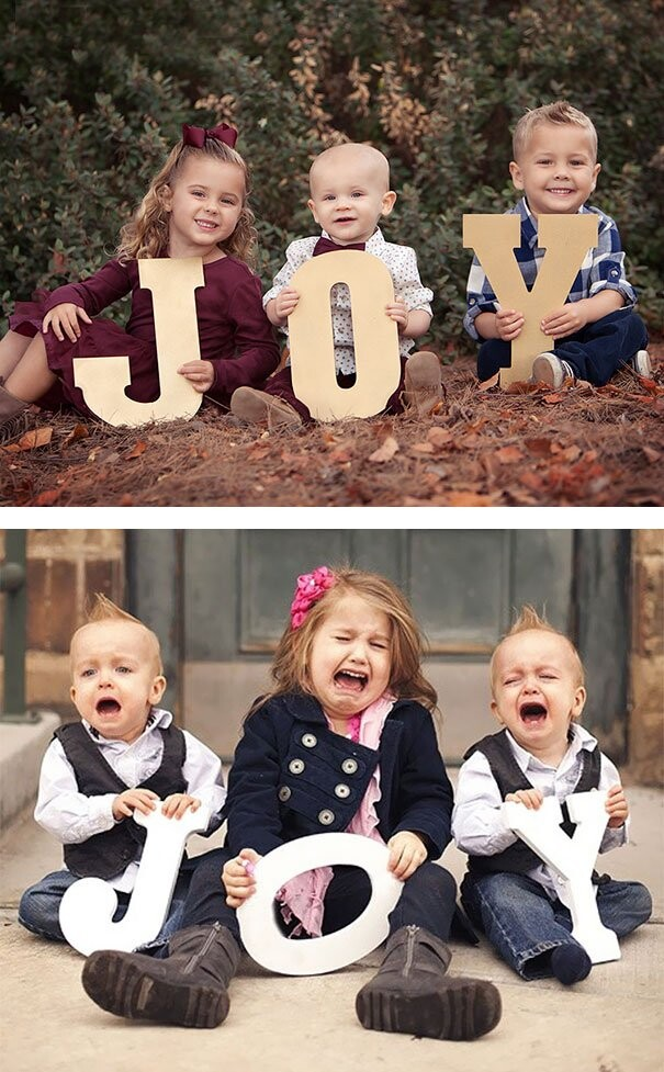 25 Funny Newborn Photoshoots That Didn't Go As Expected 15