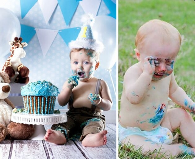 25 Funny Newborn Photoshoots That Didn't Go As Expected 19