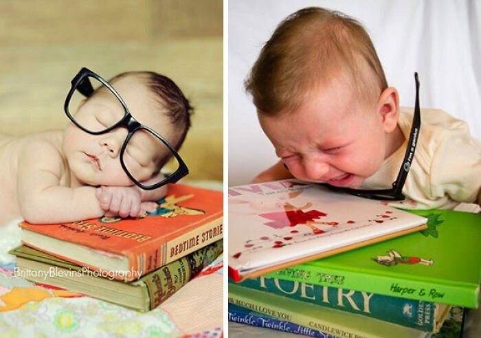 25 Funny Newborn Photoshoots That Didn't Go As Expected 25